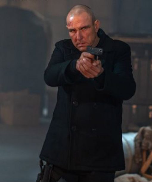 Vinnie Jones I Am Vengeance Retaliation Black coat
