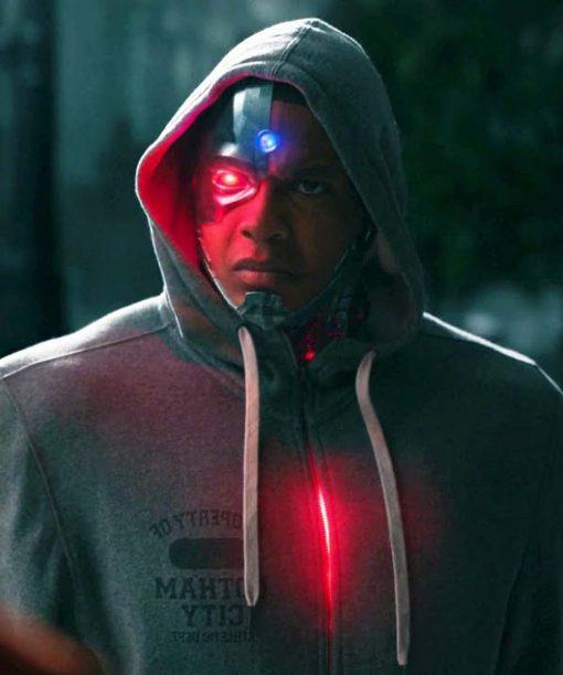 Cyborg Grey Hoodie