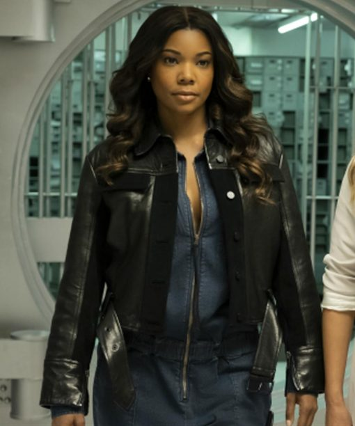 L.A.'s Finest Gabrielle Union Black Jacket