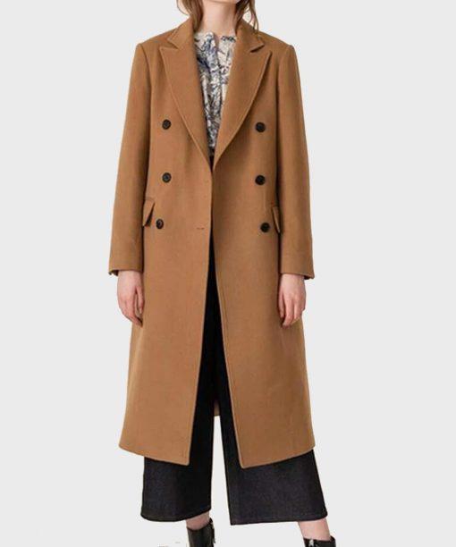 Rachael Leigh Cook Love, Guaranteed Camel Coat