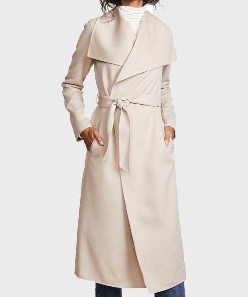 Love, Guaranteed Rachael Leigh Cook Wool-Blend Coat