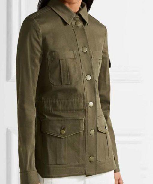 Melania Trump Military Cotton Jacket