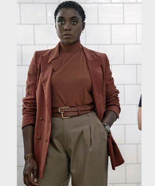 No Time to Die Lashana Lynch Coat