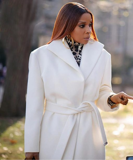 Power Book II Ghost Mary J. Blige White Coat