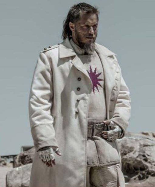 Raised by Wolves Travis Fimmel White Coat