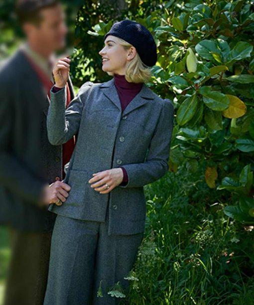 Rebecca Lily James Grey Coat
