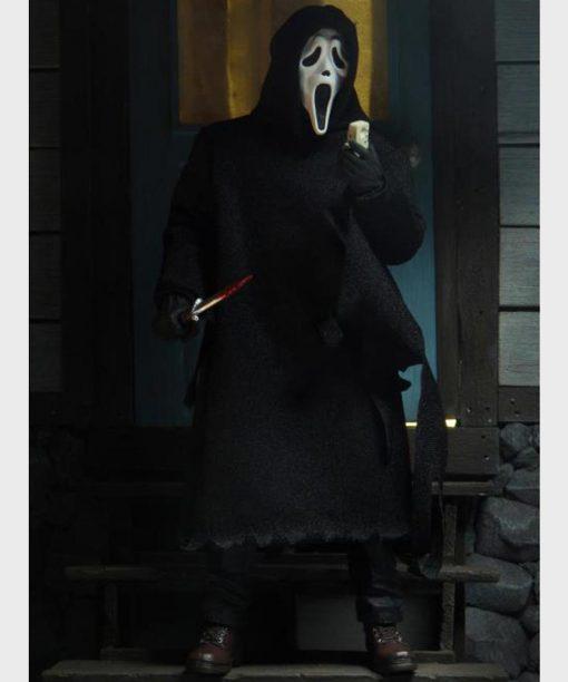 Scream Franchise Black Hooded Cloak