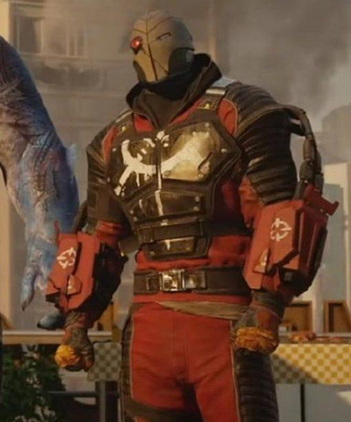 Deadshot Suicide Squad Kill The Justice League Leather Jacket