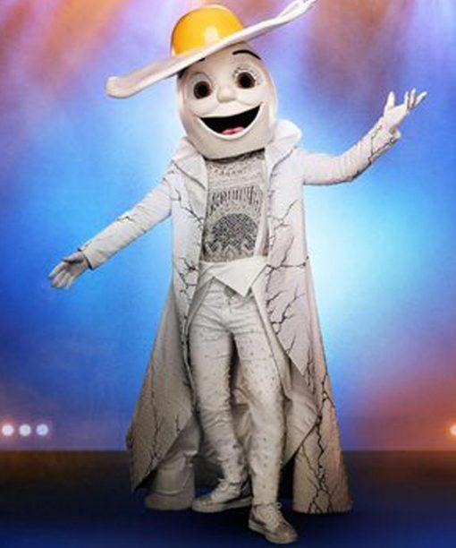 The Masked Singer S02 Egg White Trench Coat