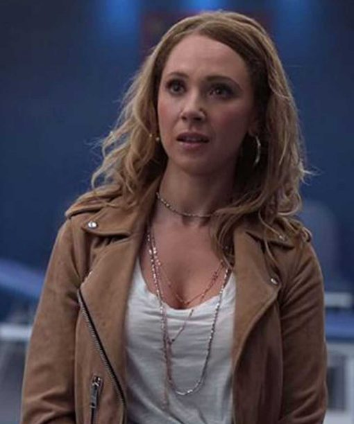 Juno Temple Ted Lasso Leather Jacket