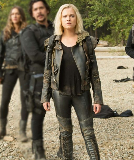 The 100 Eliza Taylor Black Jacket