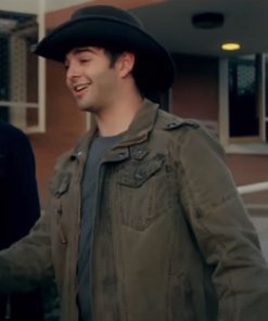 Jack Griffo The 2nd Olive Green Jacket
