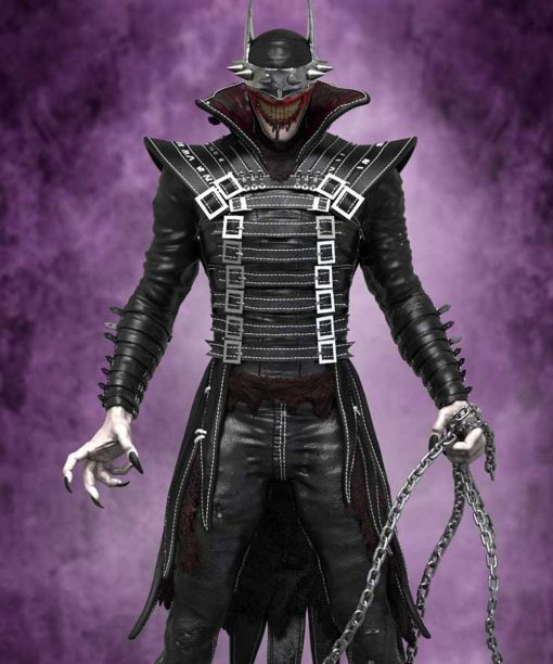 The Batman Who Laughs Black Trench Coat