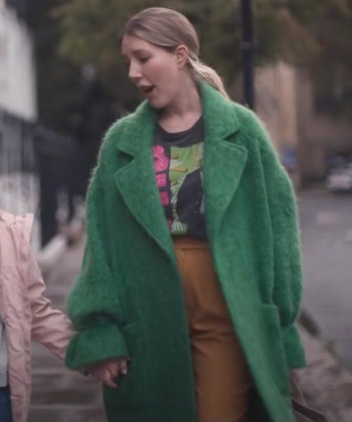Katherine Ryan The Duchess Green Coat