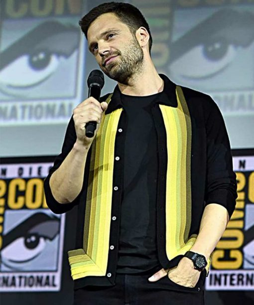 Sebastian Stan The Falcon And The Winter Soldier Event Jacket