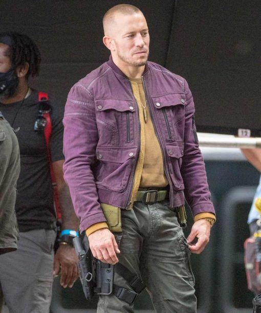 The Falcon and the Winter Soldier Batroc Leather Jacket