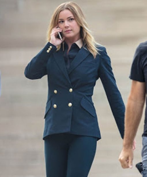 The Falcon and the Winter Soldier Emily VanCamp Blue Blazer