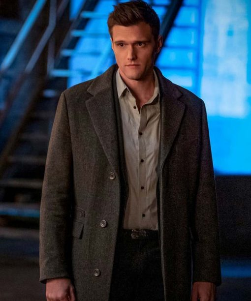 Hartley Sawyer The Flash Trench Coat