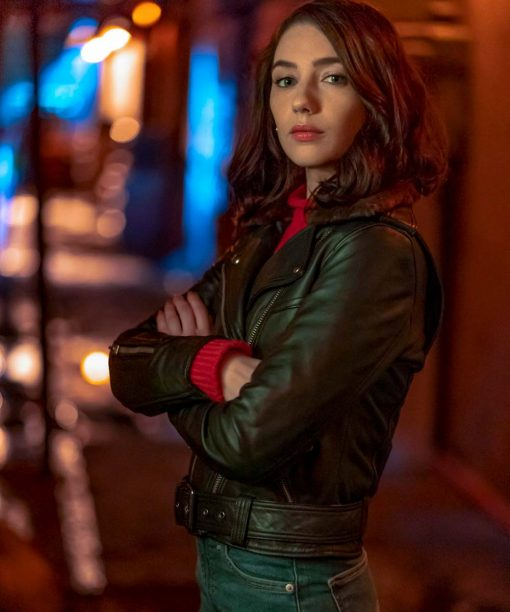 The Flash S06 Natalie Dreyfuss Leather Jacket