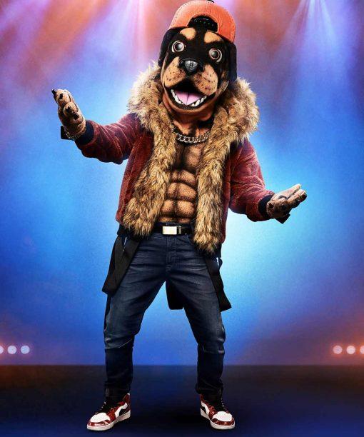 The Masked Singer S02 Rottweiler Shearling Jacket