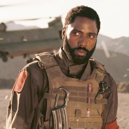 John David Washington Tenet The Protagonist Vest
