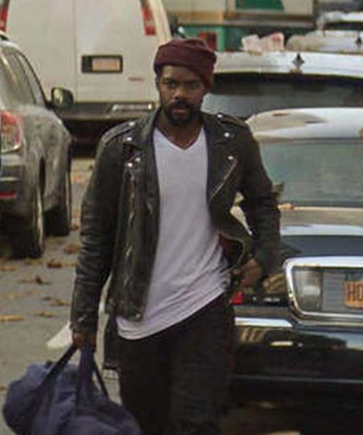 The Stand Jovan Adepo Black Leather Jacket