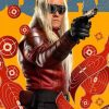 Suicide Squad 2 Michael Rooker Red Leather Jacket