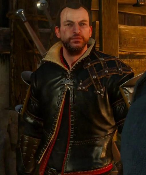 The Witcher 3 Lambert Brown Leather Jacket