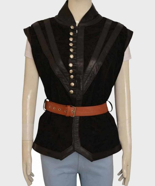 Yennefer The Witcher 3 Suede Vest