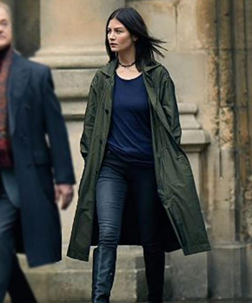 A Discovery Of Witches Malin Buska Green Coat