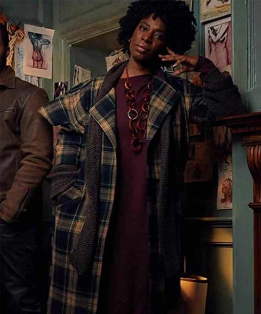 A Discovery Of Witches Tanya Moodie Plaid Coat
