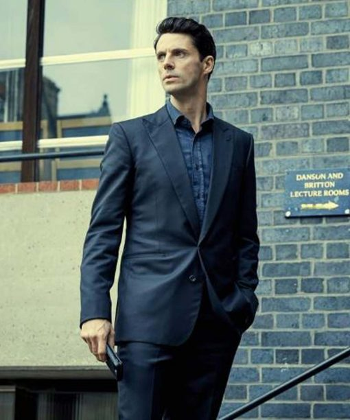 A Discovery of Witches Matthew Goode Blue Blazer