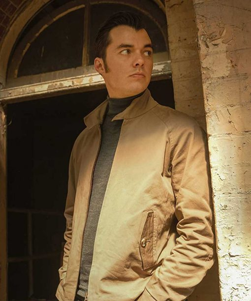 Jack Bannon Alfred Pennyworth Brown Cotton Jacket