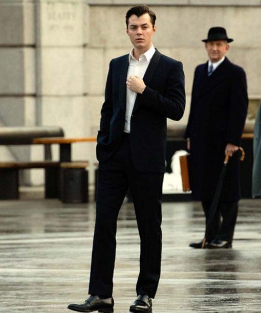 Jack Bannon Alfred Pennyworth Black Suit