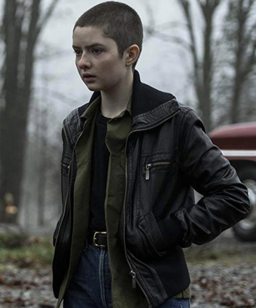 Chilling Adventures of Sabrina Lachlan Watson Bomber Leather Jacket
