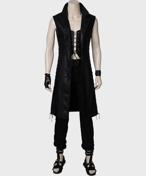 Devil May Cry 5 V Black Trench Coat