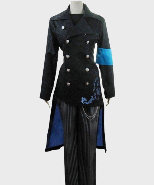 DmC Devil May Cry Vergil Black Cotton Coat