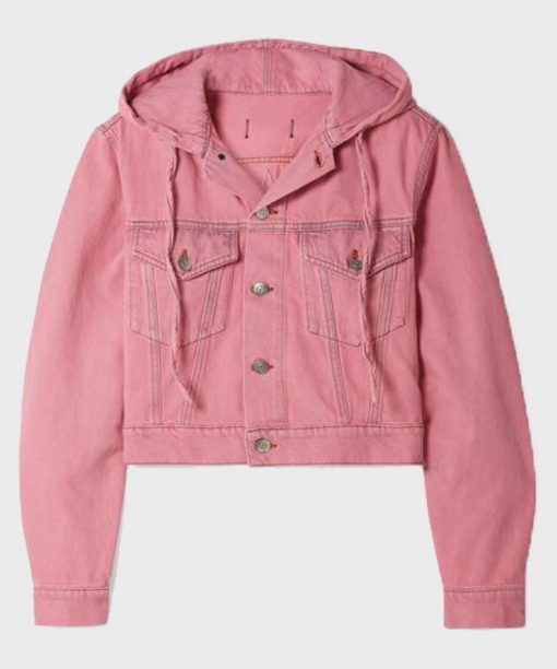 Emily In Paris Emily Cooper Pink Cotton Jacket