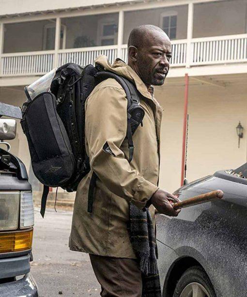 Fear The Walking Dead Lennie James Brown Coat
