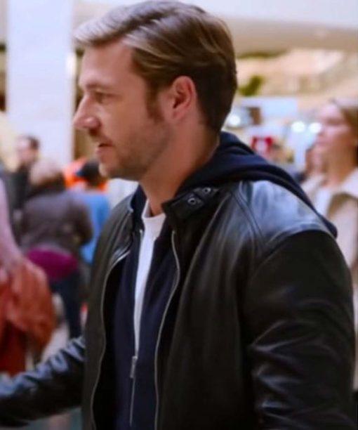 Luke Bracey Holidate Leather Jacket