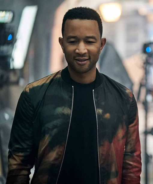Jingle Jangle A Christmas Journey John Legend Bomber Jacket