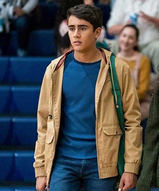 Love, Victor Michael Cimino Hooded Jacket