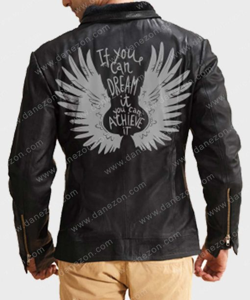 If You Can Dream it You Can Achieve it Leather Jacket