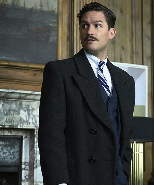 Pennyworth Ben Aldridge Double-Breasted Coat