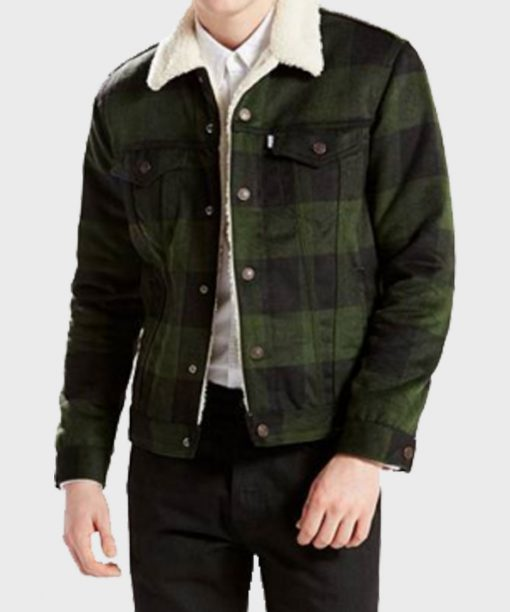 Riverdale Fred Andrews Green Plaid Jacket