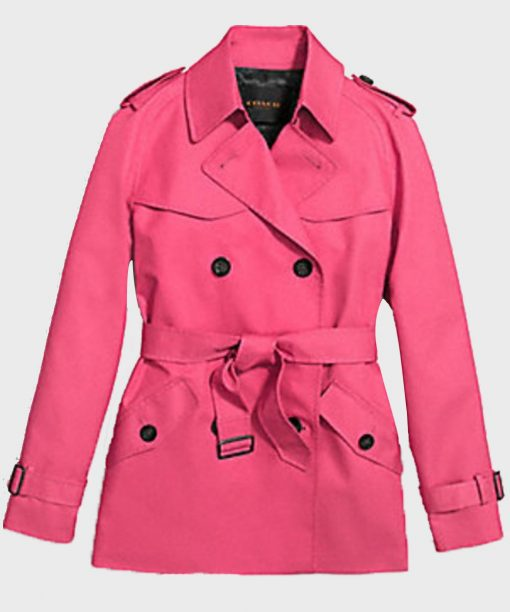 Betty Cooper Riverdale S02 Pink Double-Breasted Coat