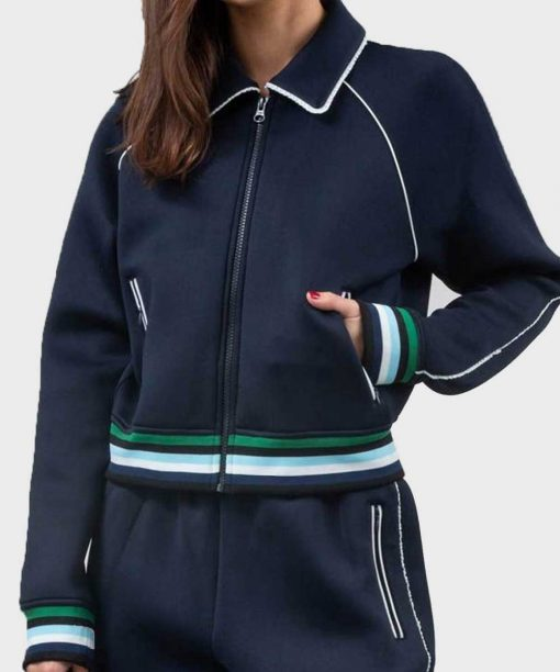 Riverdale S04 Betty Cooper Blue Varsity Jacket