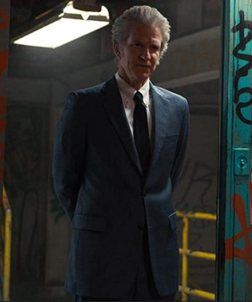 Stranger Things Matthew Modine Blue Blazer
