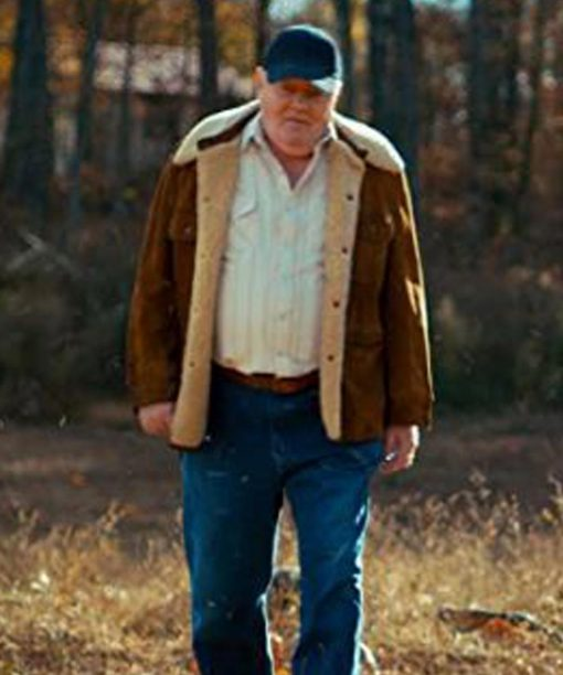 Stranger Things Fenton Lawless Brown Suede Leather Jacket