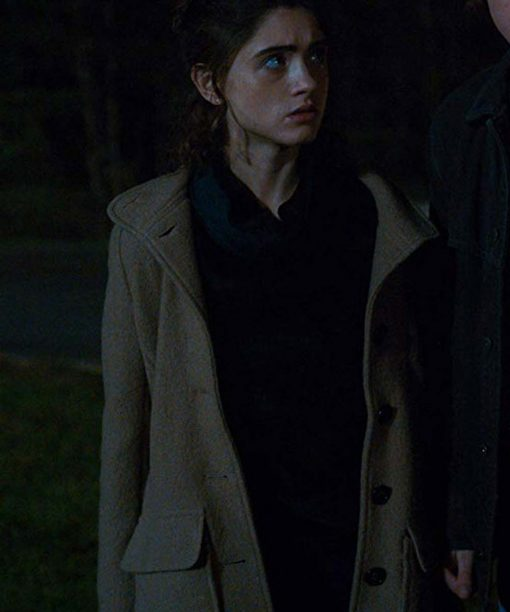 Stranger Things S03 Nancy Wheeler Wool Coat